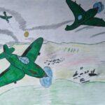 Квасс Екатерина 13 лет Воздушный бой